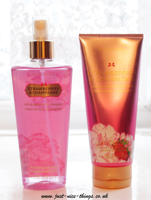 Victoria's Secret: Strawberries & Champagne