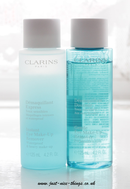 Eye Make-Up Removers from Clarins