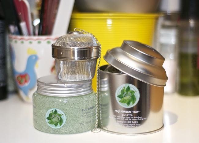 The Body Shop: Fiji Green Tea