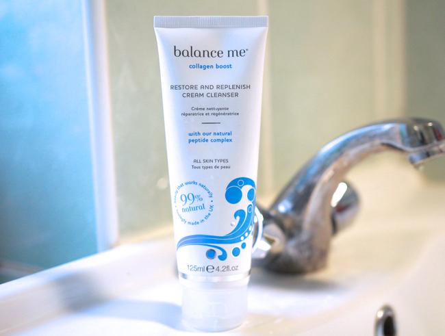 Balance Me Collagen Boost Restore & Replenish Cream Cleanser