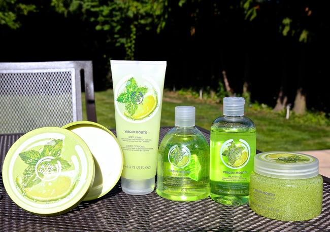 The Body Shop: Virgin Mojito