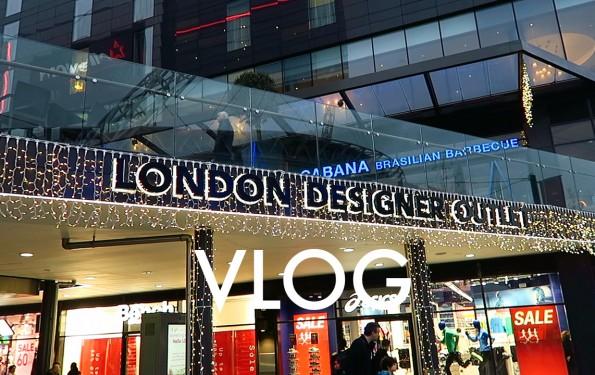 London Designer Outlet vlog