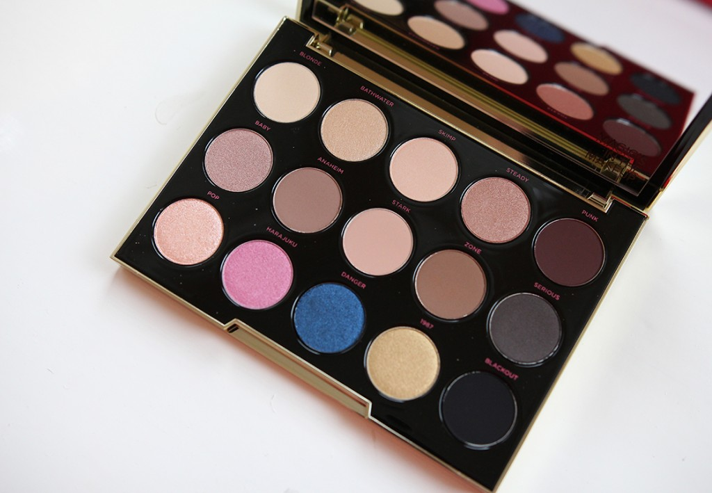 Review & swatches: Urban Decay Gwen Stefani Eyeshadow Palette