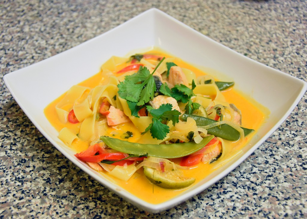 Recipe: One Pot Wonder Red Curry Pasta