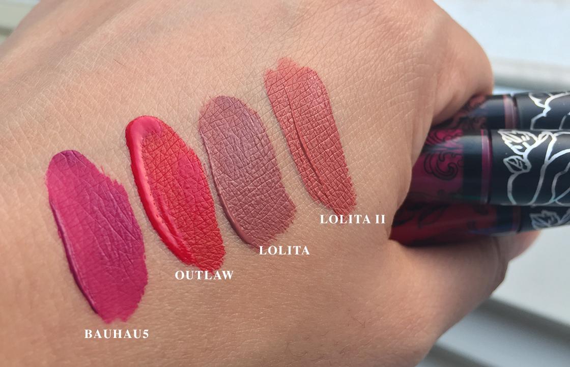 kat_von_d_liquid_lipstick_swatches