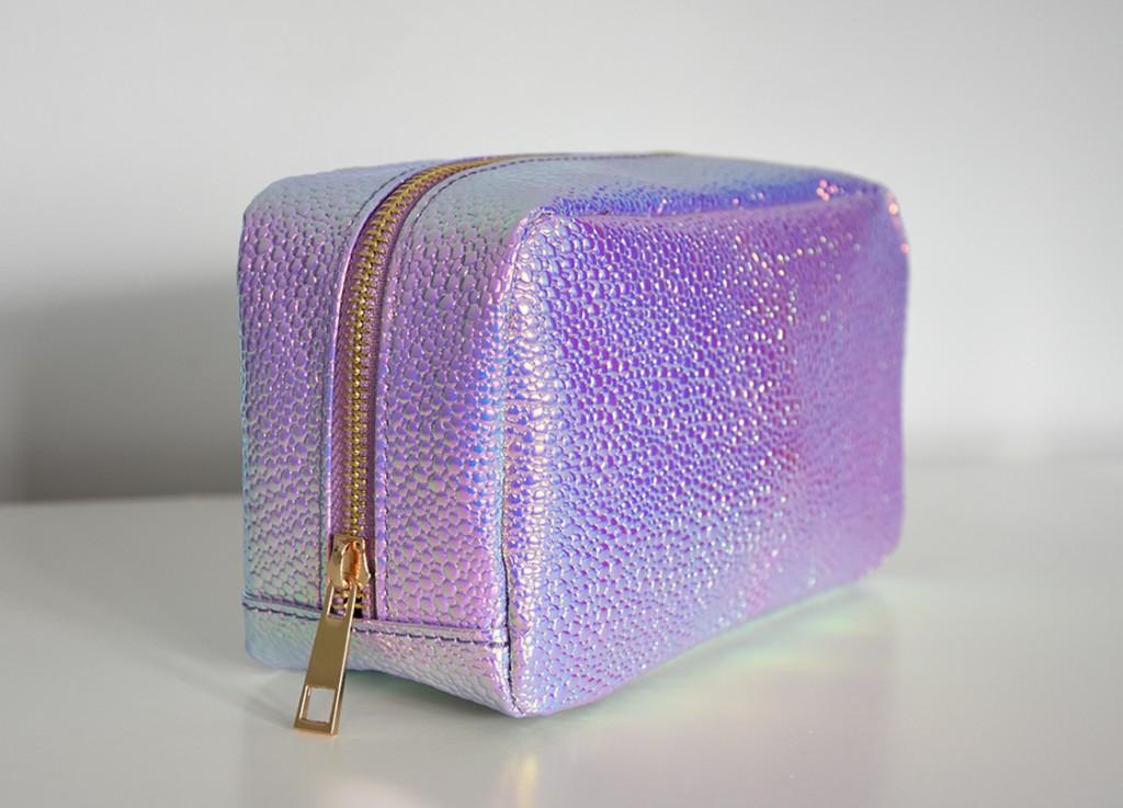 New Look Iridescent Make-Up Bag