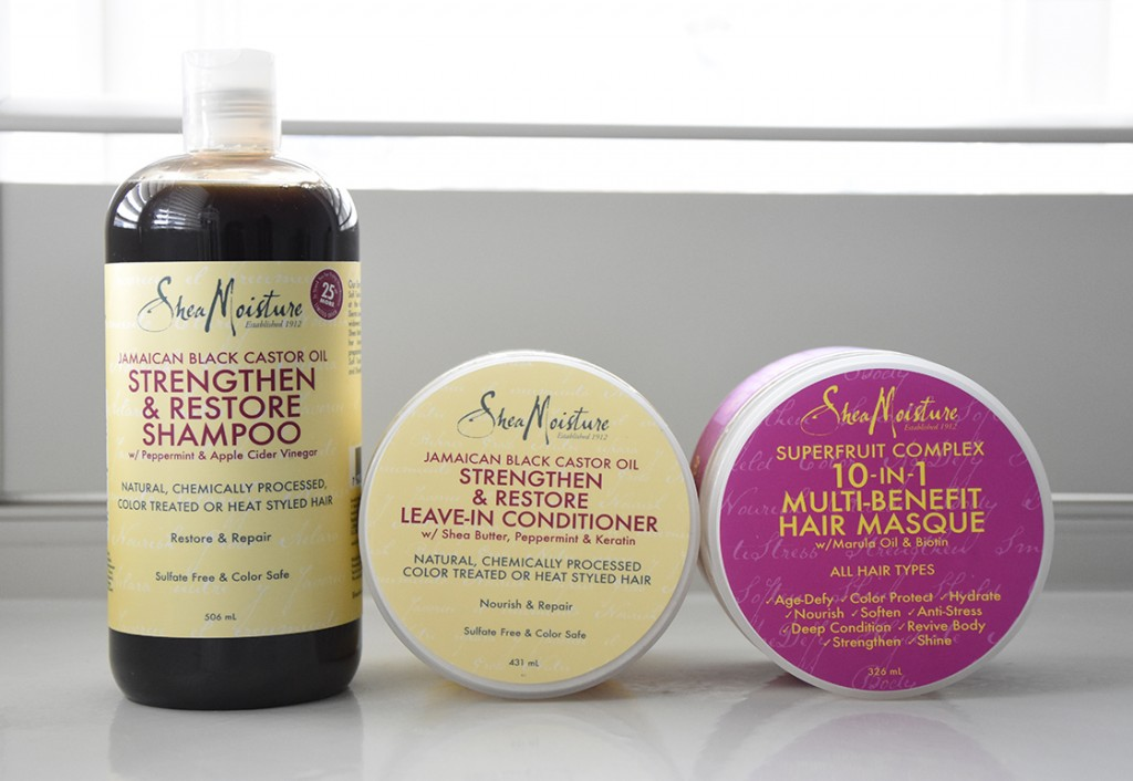 Review: Shea Moisture Jamaican Black Castor Oil Strengthen & Restore Shampoo and Conditioner