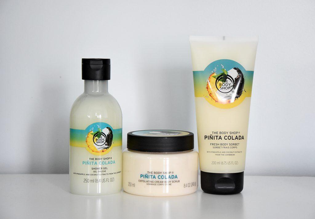 The Body Shop: Pinita Colada collection