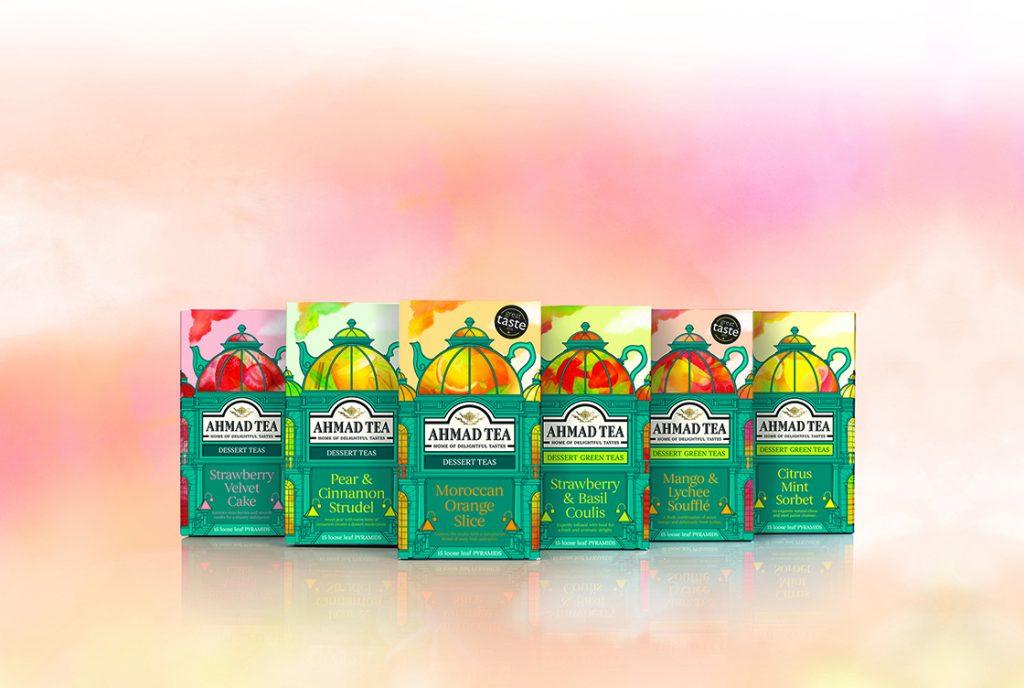 Win Ahmad Tea's new range of Dessert Teas