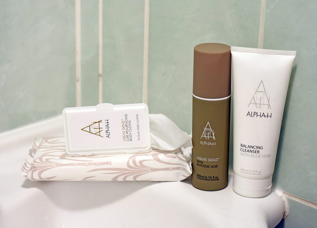 QVC TSV with Alpha-H: The Liquid Gold Head to Toe Resurfacing Collection