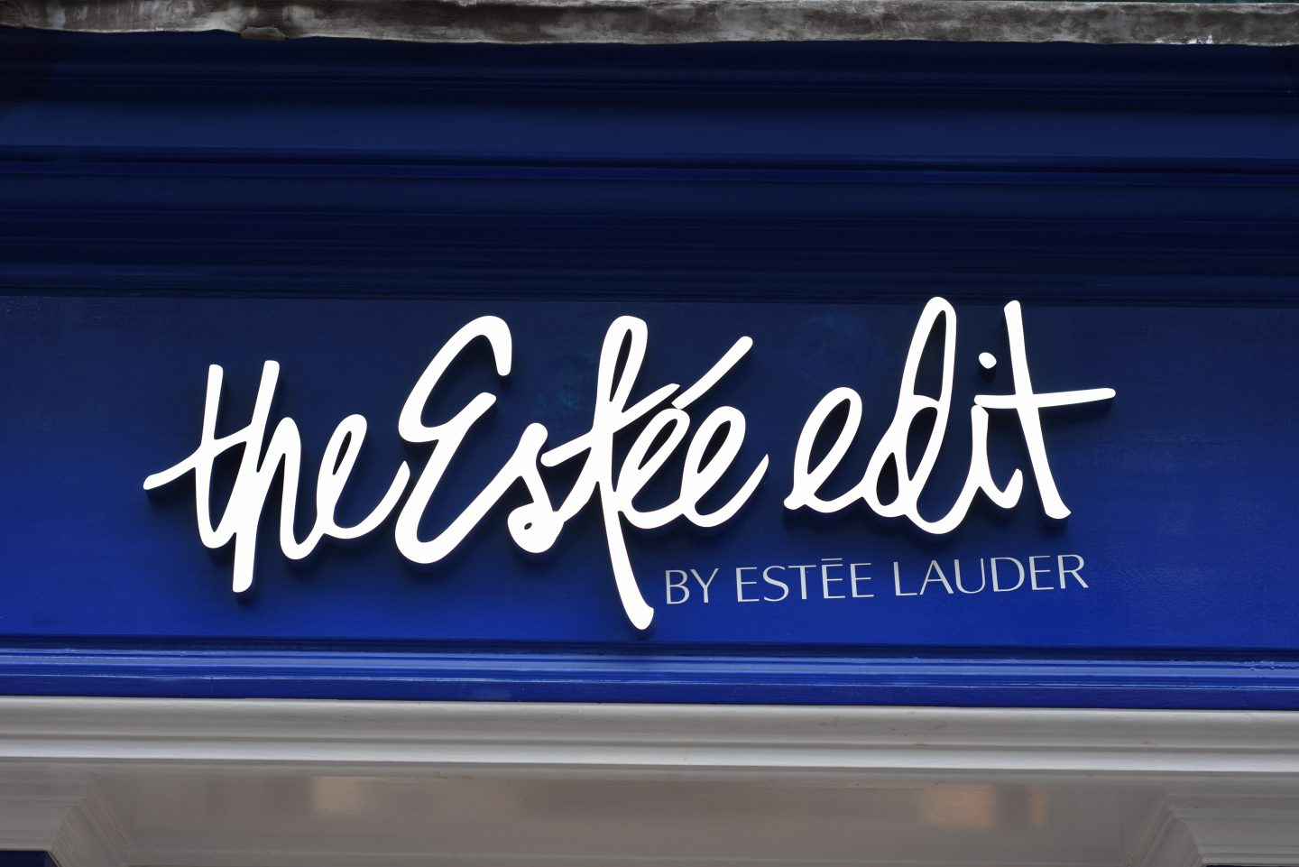 The Estée Edit Store in London's Carnaby Street