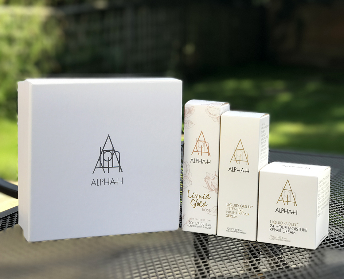 QVC TSV with Alpha-H: Liquid Gold Rose
