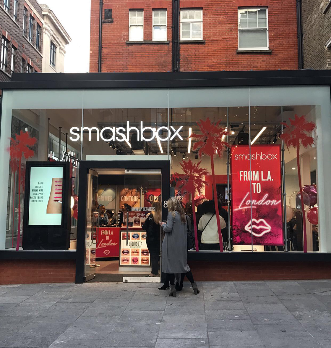 From LA to London: Smashbox opens new flagship store