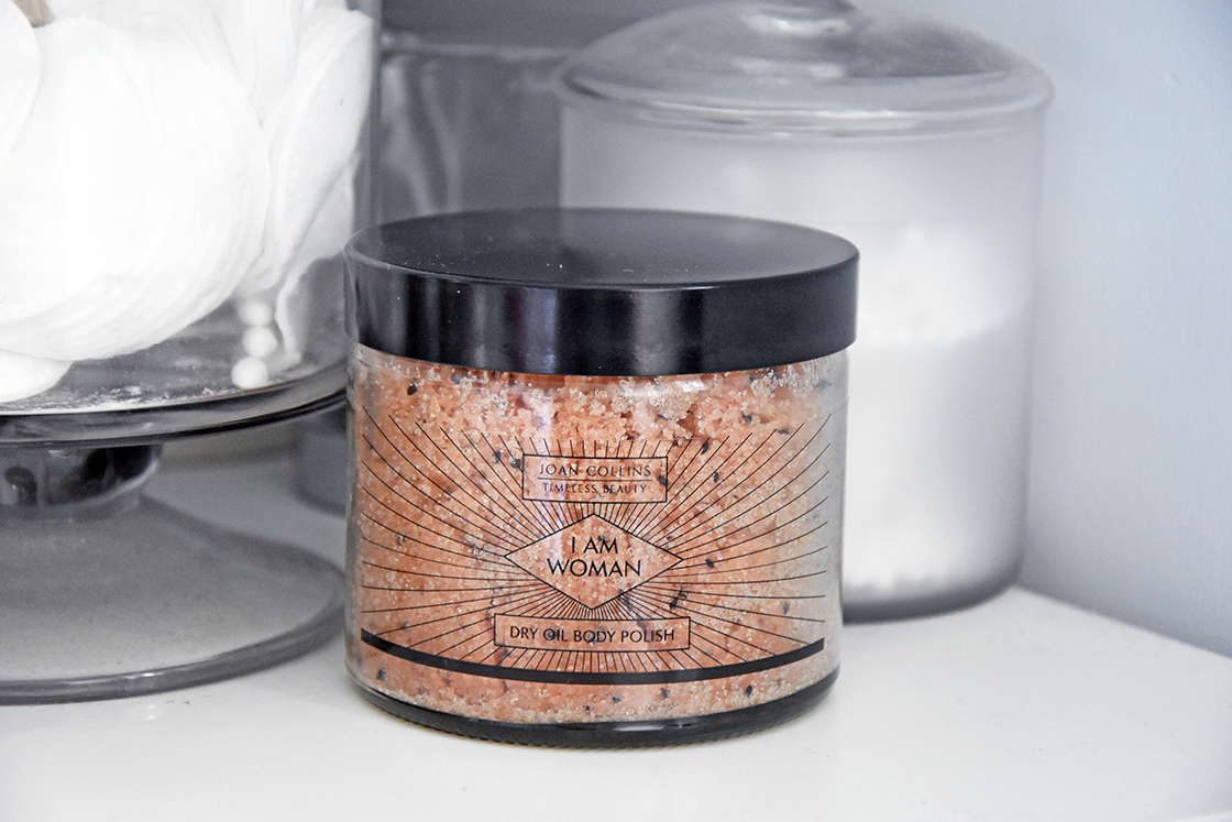Joan Collins Timeless Beauty: I Am Woman Dry Oil Body Polish