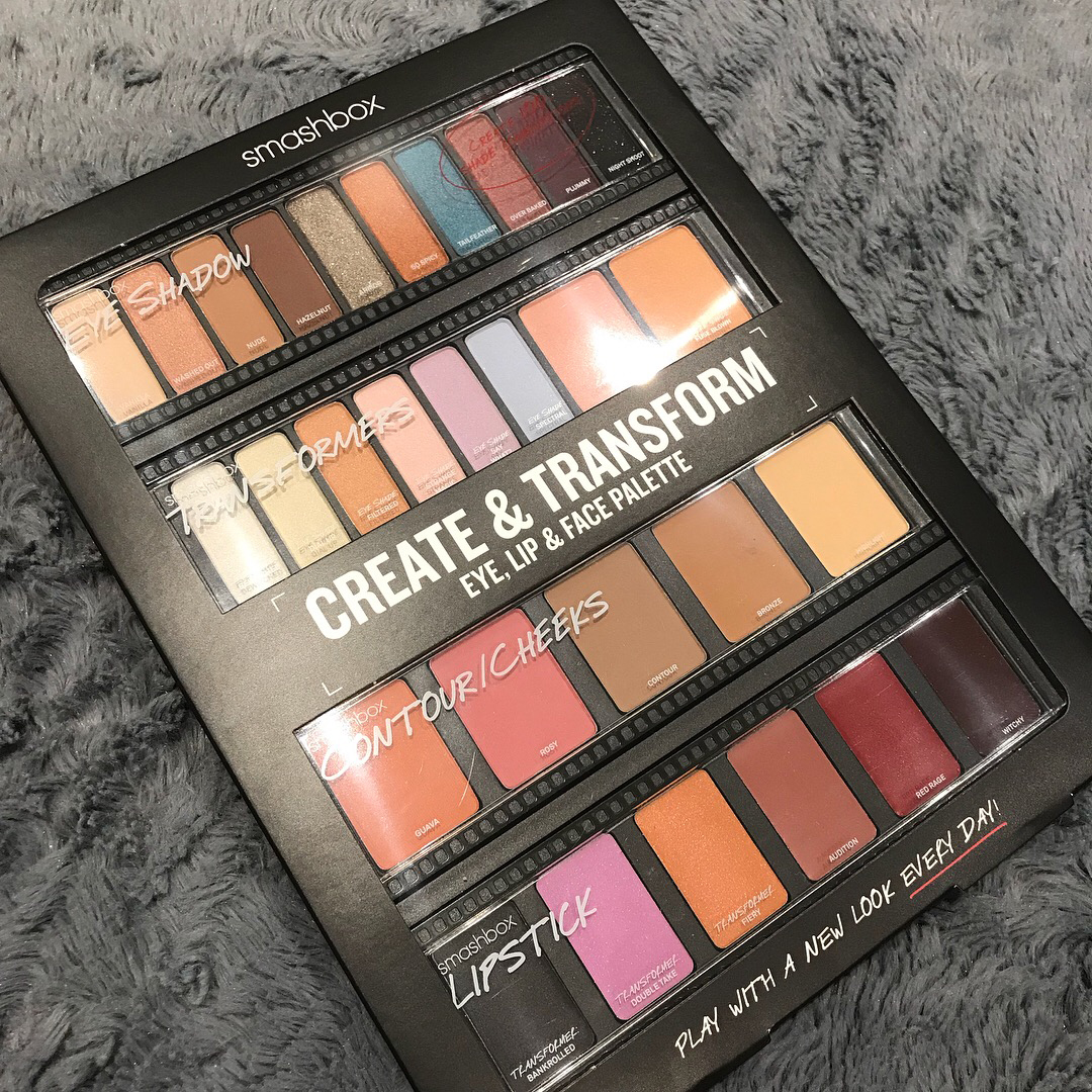 Smashbox: Create & Transform palette only £35 at Boots